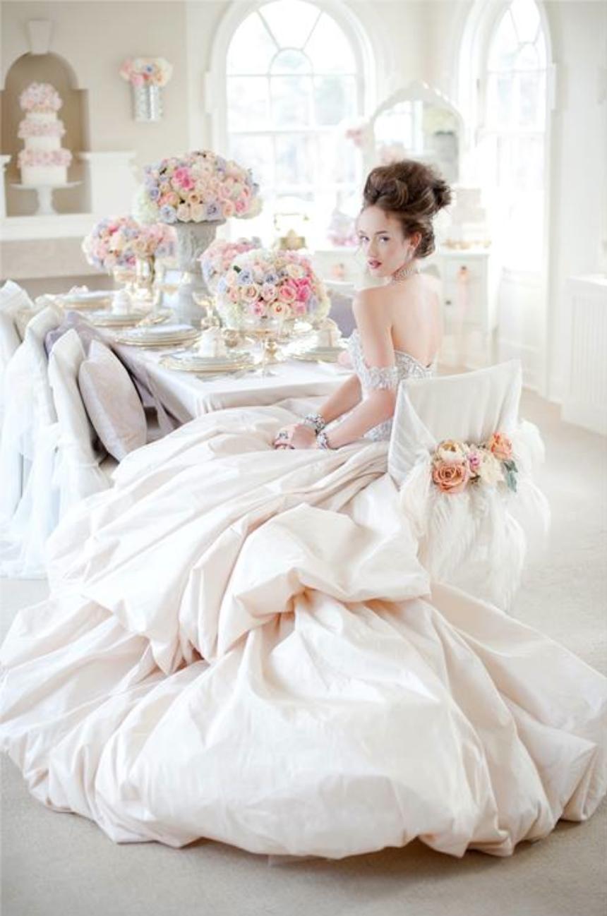 Marie Antoinette Style Wedding Dress
