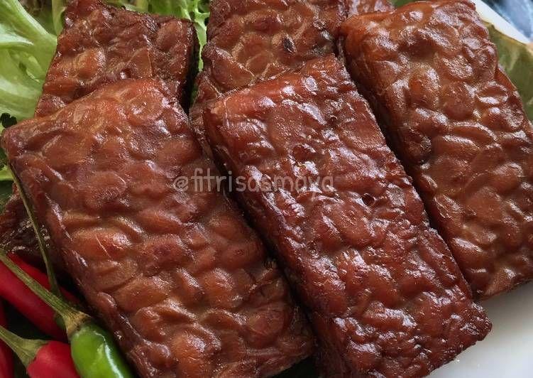 Resep Tempe Bacem Pr Adakecapmanisnya Oleh Fitri Sasmaya Resep Resep Tempe Resep Masakan Indonesia Makanan