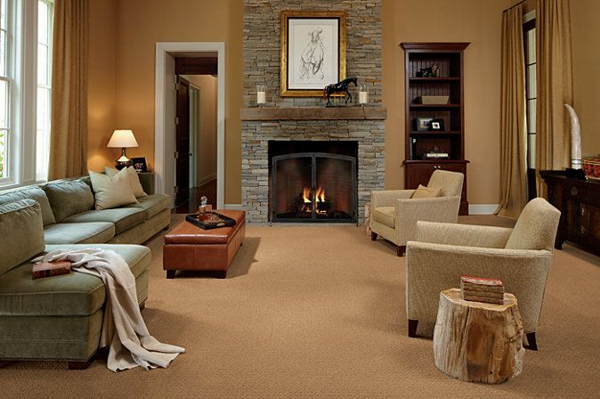 Naples Charm Carpet From Karastan Makes This A Warm And