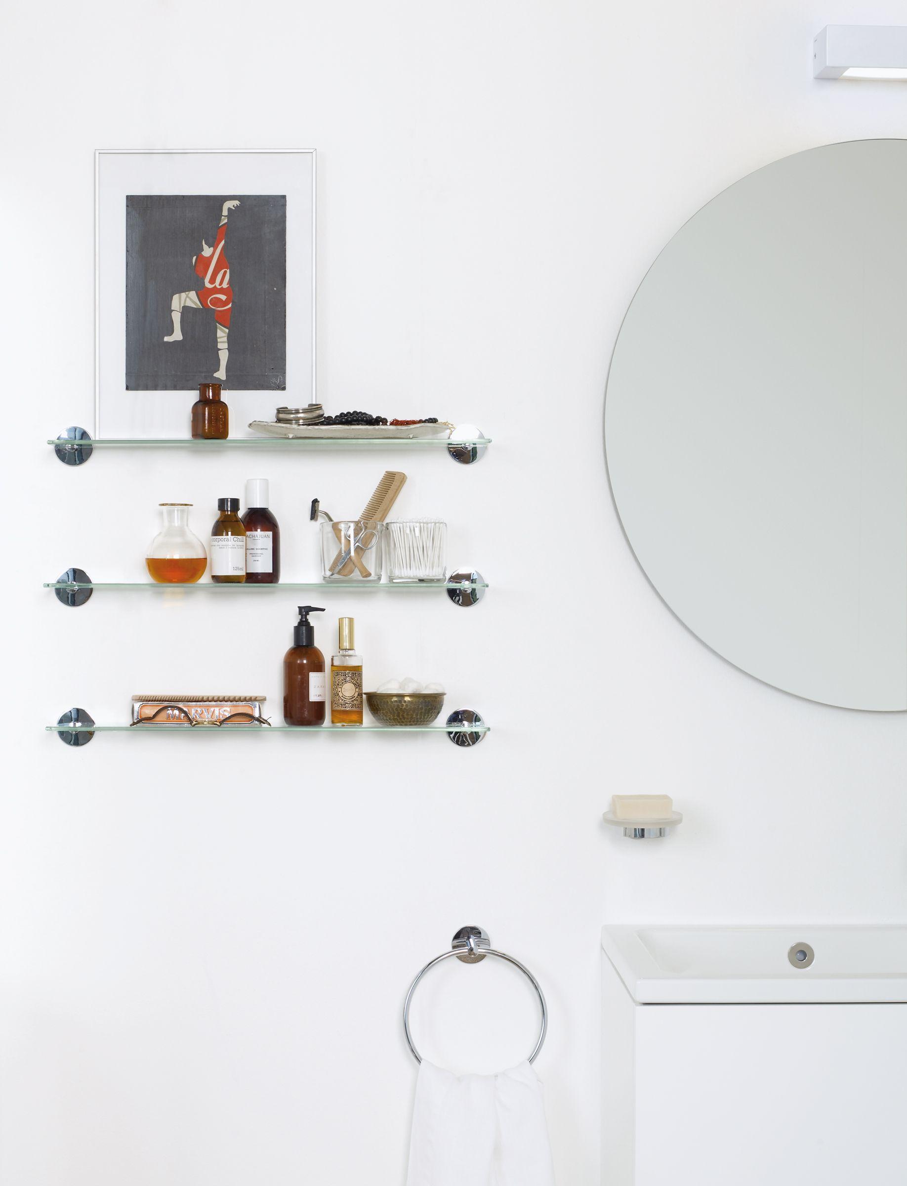 Mobiliario para el #baño. Accesorios adhesivos con mucho diseño ...