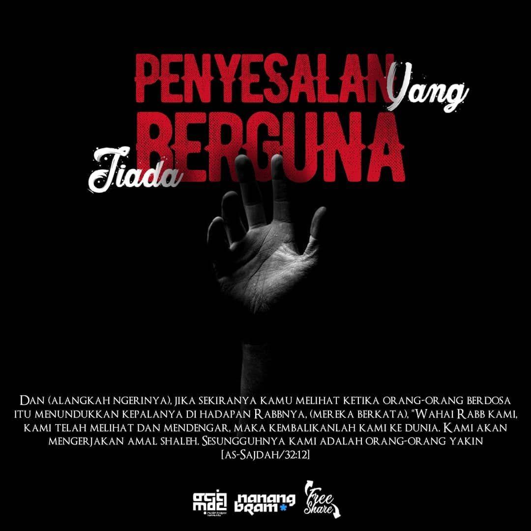 الفرقة الناجية Di Instagram Penyesalan Yang Tiada Berguna Oleh
