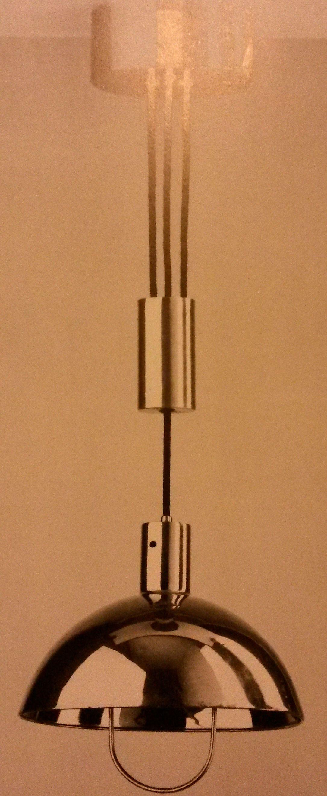 Bauhaus pendant lamp marianne brandt and hans przyrembel 1925 - Marianne Brandt And Hans Przyrembel Hanging Lamp 1926