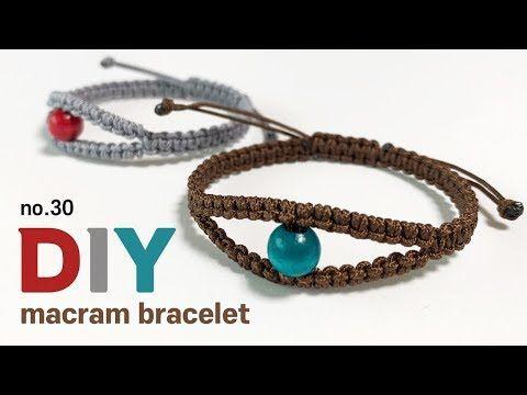 매듭팔찌 만들기 마크라메 우정소원팔찌 Macrame Eye Bracelet Square Knot Sodiy 30 Youtube 남자 팔찌 매듭 팔찌 만들기 매듭 팔찌