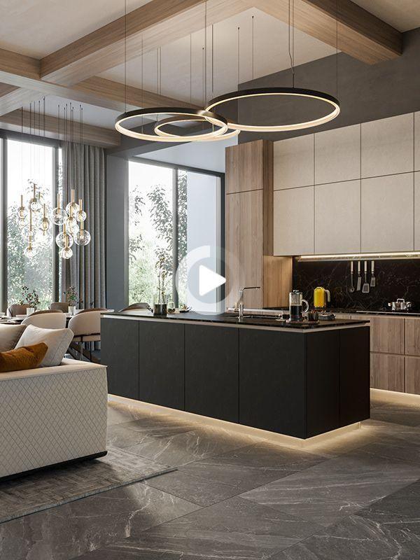 Redirecting in 2021 | Modern kitchen apartment, Luxury ...