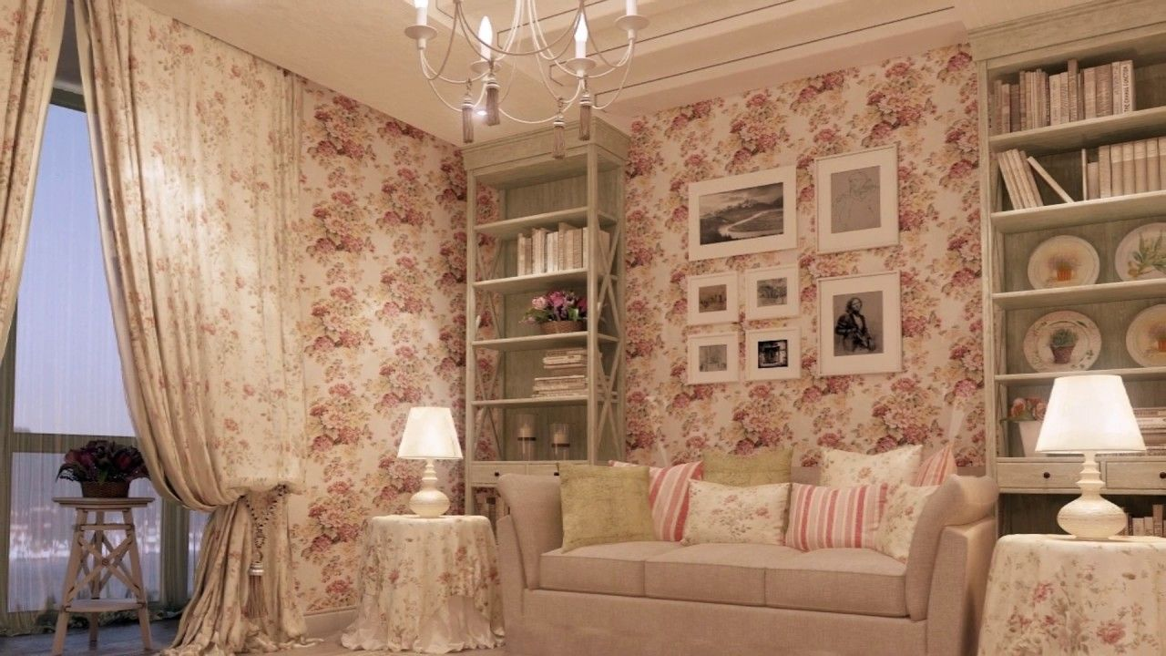 30 LIVINGS ESTILO SHABBY CHIC, Diseño de Interiores | SHABBY CHIC ...