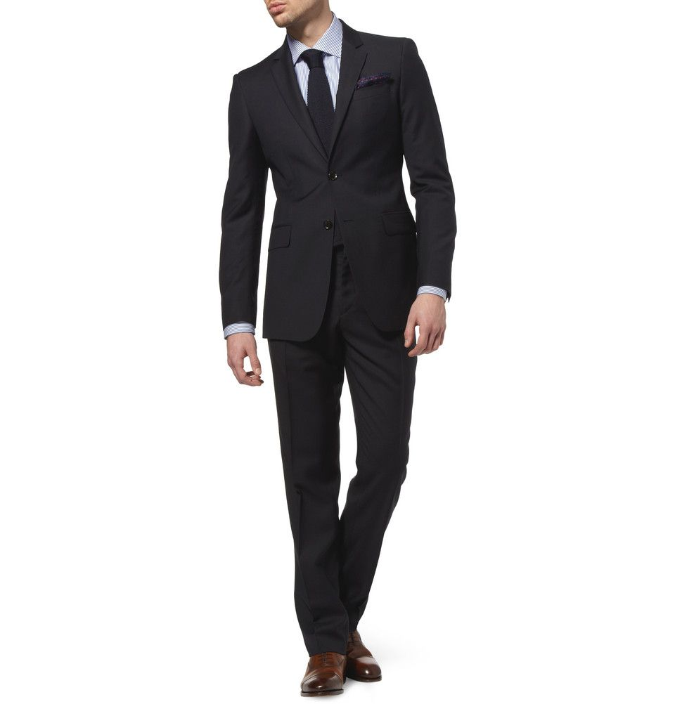 e1b0c6259bb Burberry London Slim-Fit Wool Suit | MR PORTER | My Affordable ...