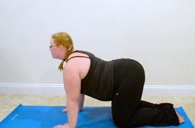 plus size fitness best yoga poses to help with digestion