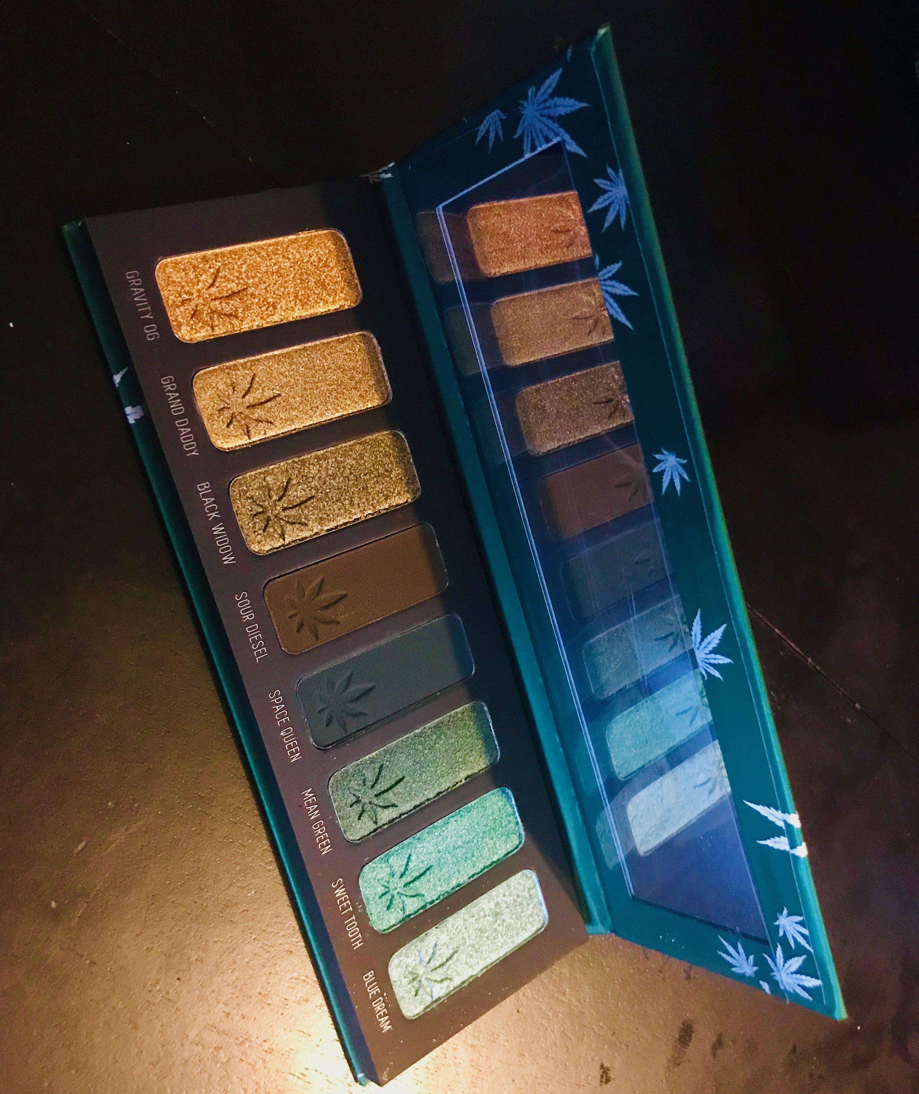 Smoke Session Palette! Melt Cosmetics 💚🍁 Melt cosmetics