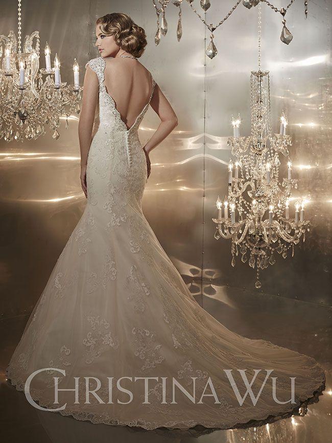 Sofisticados vestidos de novias   Colección Christina Wu …   Pinteres…