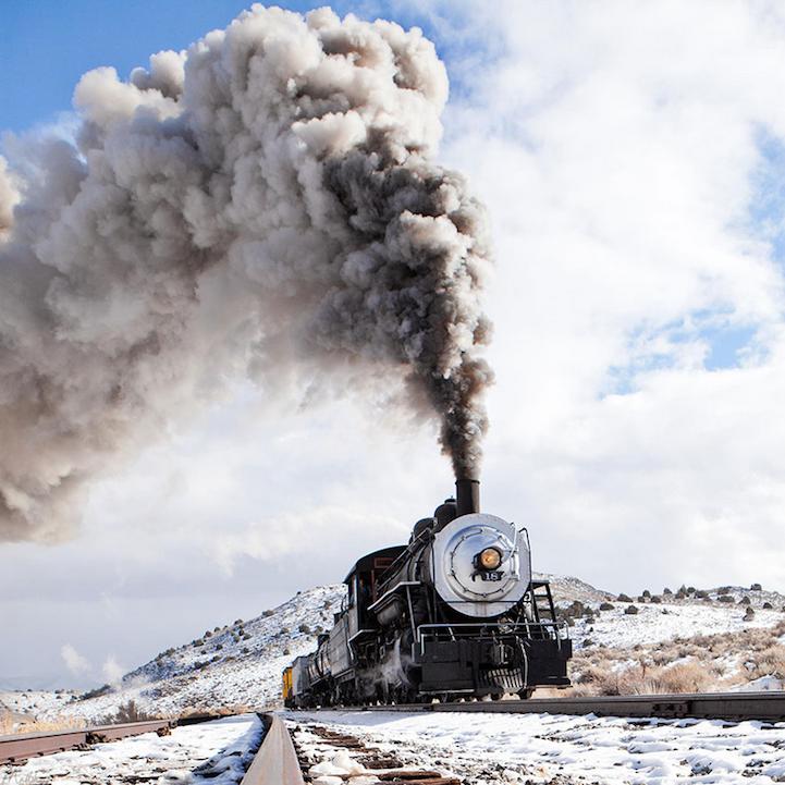 Powerful Train Engines Chug Through Beautiful Landscapes Old Trains Steam Locomotive Train