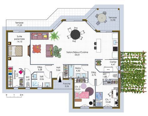Maison à ossature bois 1 Sims house, House and Construction
