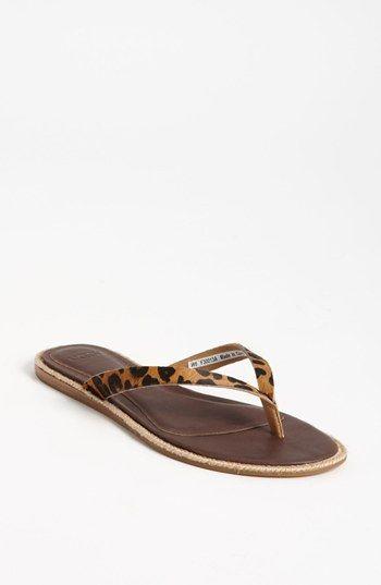 1c56b7a989e UGG® Australia 'Allaria' Leopard Print Flip Flop (Women) available ...
