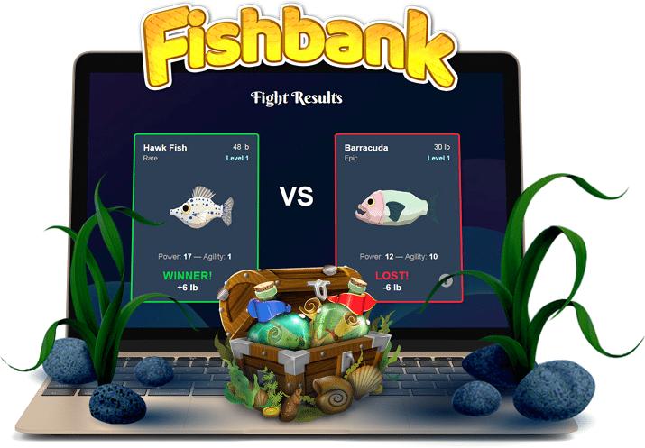 Crypto Fish Token Prices Raised X2 as Fishbank Game