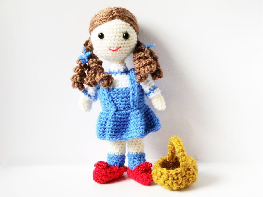 Free+Patterns+For+Amigurumi+Animals | Amigurumi Pattern Crochet Doll ...