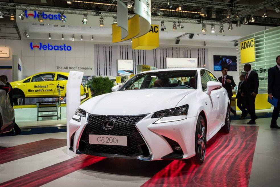 2016 Lexus GS F Sport Debuts at Frankfurt Motor Show