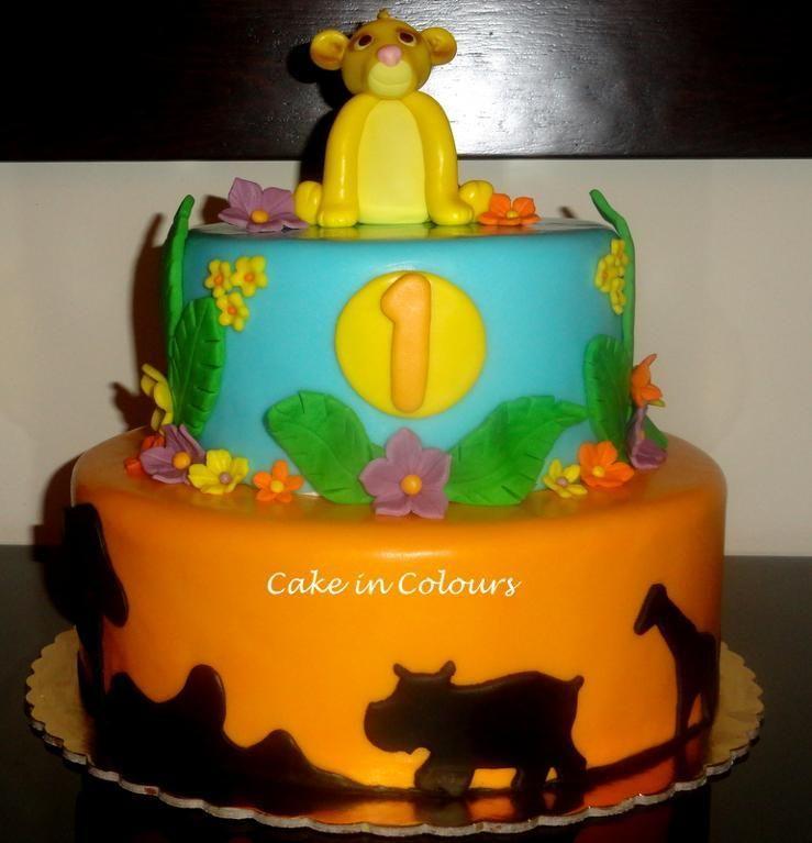 Lion King Cake via Craftsy Unique Pinterest Lion king
