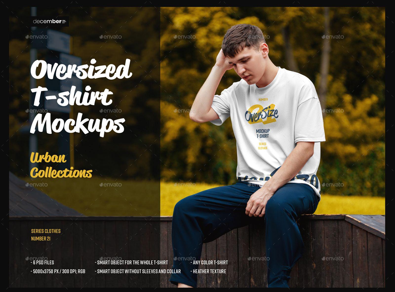 Download 6 Oversized T Shirt Mockup Urban Style In 2020 Shirt Mockup Oversized Tshirt Tshirt Mockup