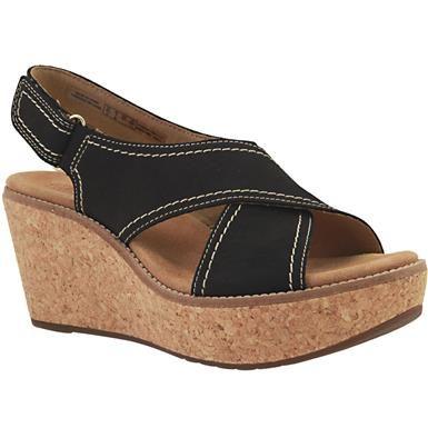 clark aisley tulipe sandales clarks,  s clarks, sandales sandales et wedge. 5a5055