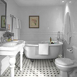 The Designer S Corner Blog August 2007 Vinyl Flooring Bathroom