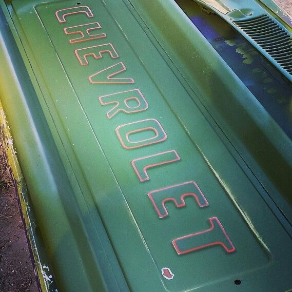 Pinstriping bymullins chevy pickup tailgate | bymullins | Pinterest ...