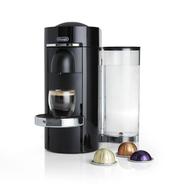 Nespresso By De Longhi Vertuo Deluxe Plus Black Coffee Maker Bundle Black Coffee Coffee Maker Coffee