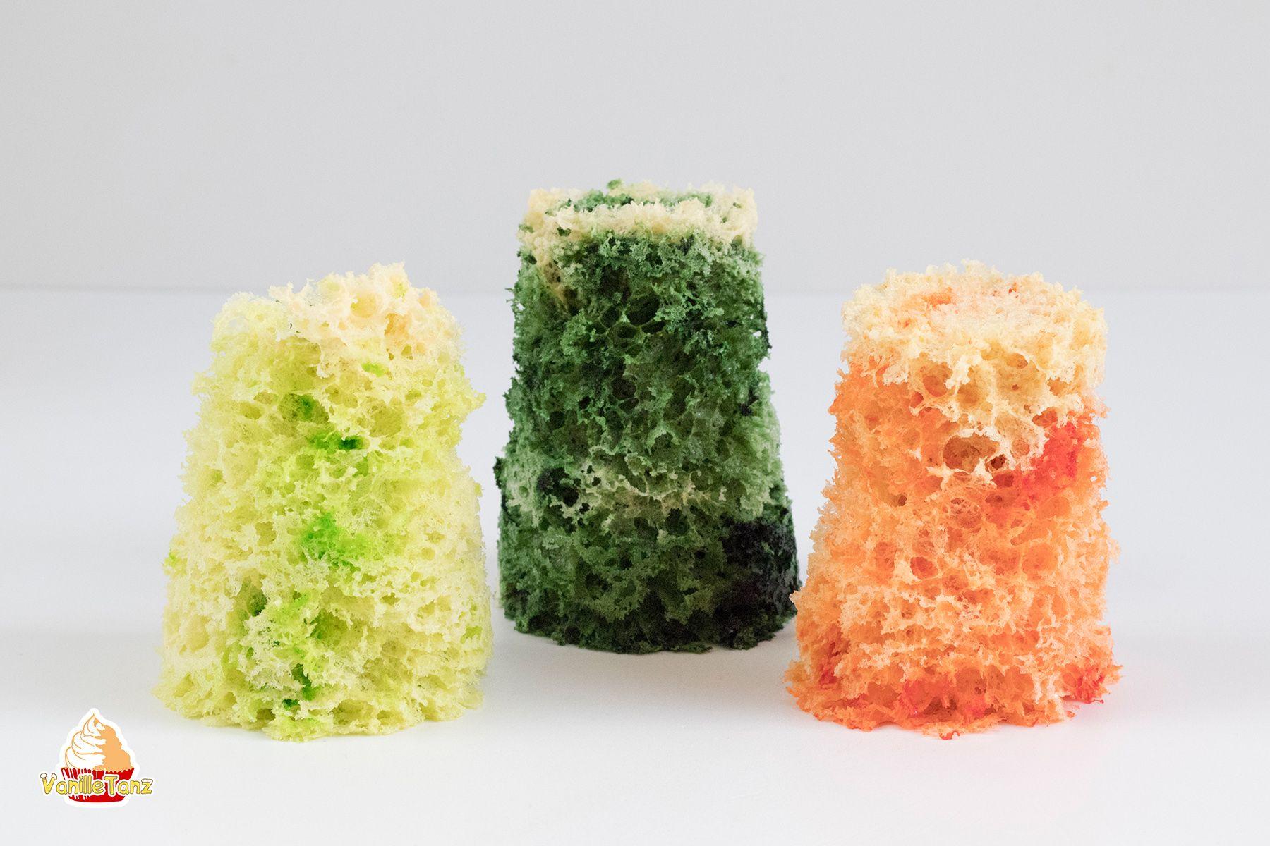 Mikrowellen Biskuit Ruhrteigschwammchen Schwammkuchen Aus Dem Becher Schwamm Biskuit Oder Moss Sponge Cake Ist Eine E Schwammkuchen Biskuit Molekulare Kuche