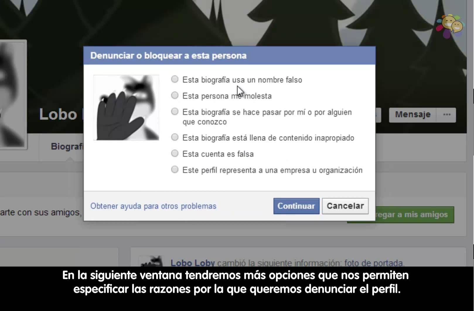 Cómo Denunciar Un Perfil En Facebook 2014 Mayo Perfil Denunciando Redes Sociales