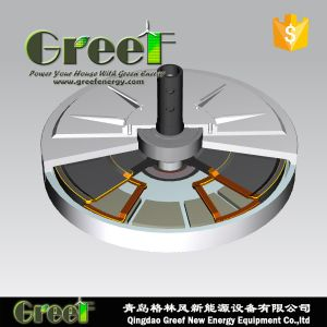 Disc Coreless Axial Flux Permanent Magnet Generator for Vawt