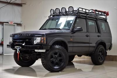 2004 Land Rover Discovery Lifted 4x4 Land Rover Discovery Se7 Leather Steel Bumpers Winch Roof Rack Land Rover Land Rover Discovery Land Rover Discovery 2