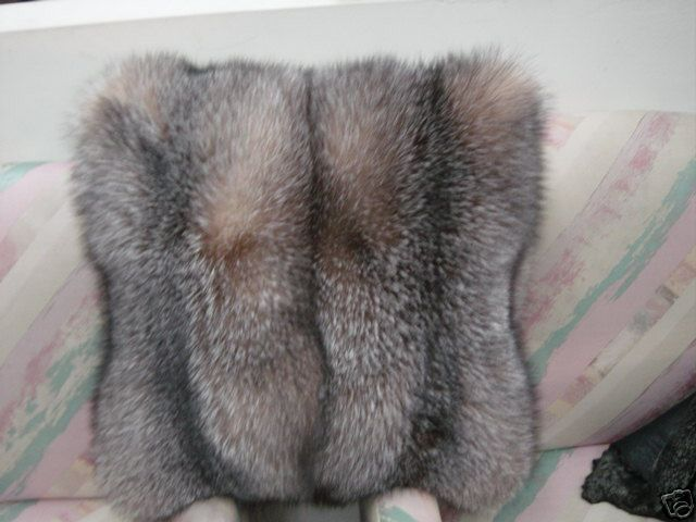 CRYSTAL FOX PILLOW DOUBLE SIDE FUR Beverly Hills $2,950 is part of Home Accessories Luxury Beverly Hills -