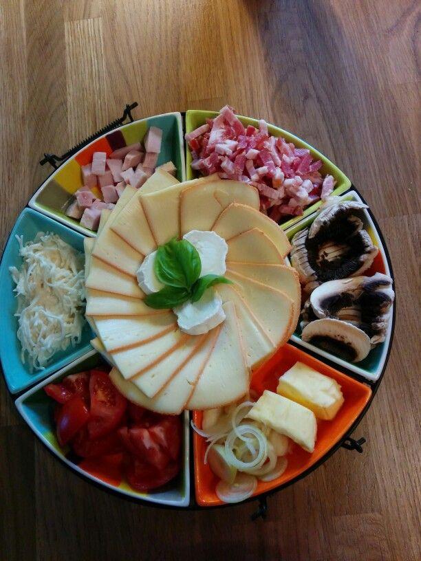 Idée Raclette Tolle Idee fürs nächste Raclette! Nicht immer nur Schüsselchen und