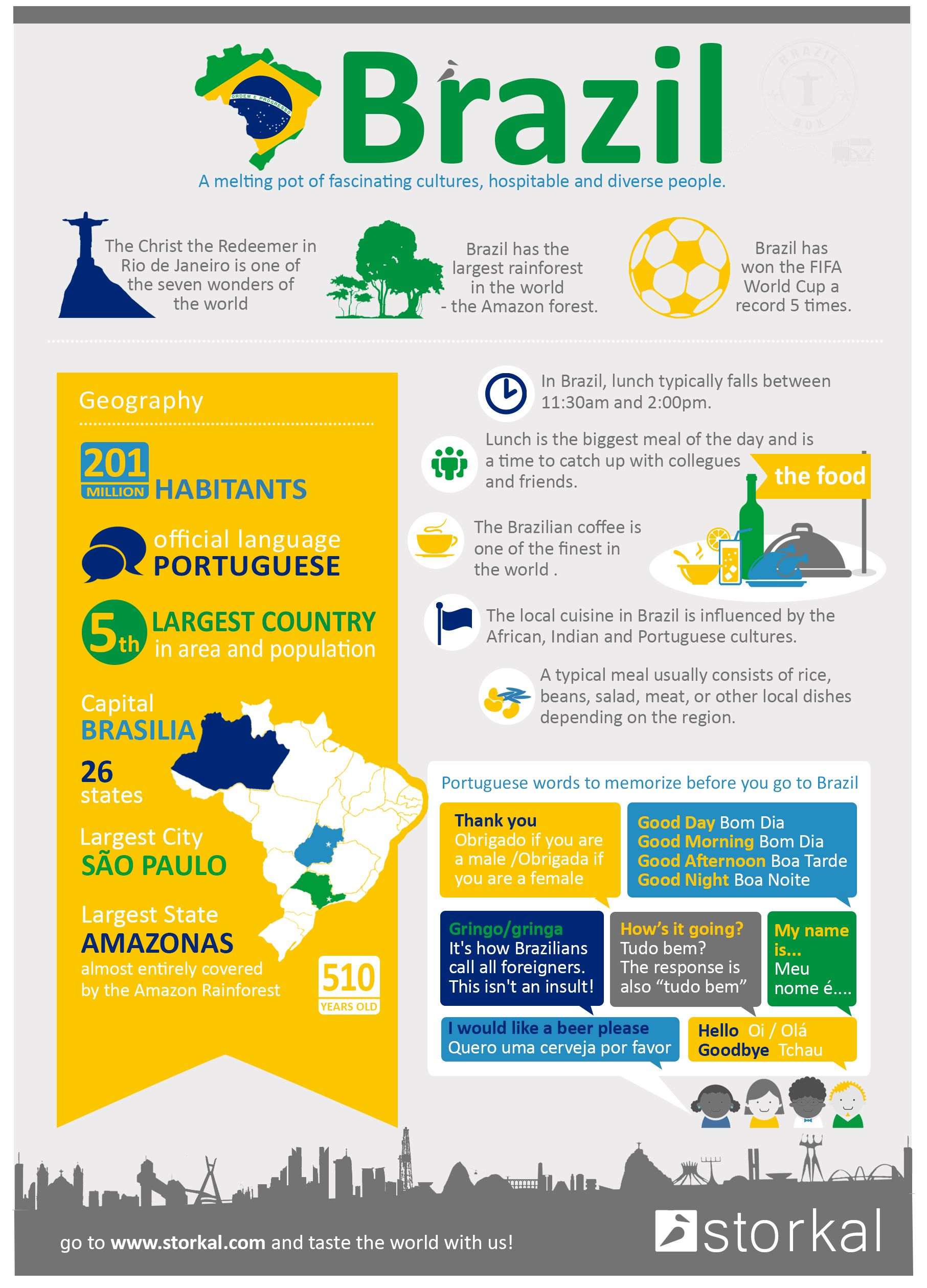 Infographic Brazil Facts