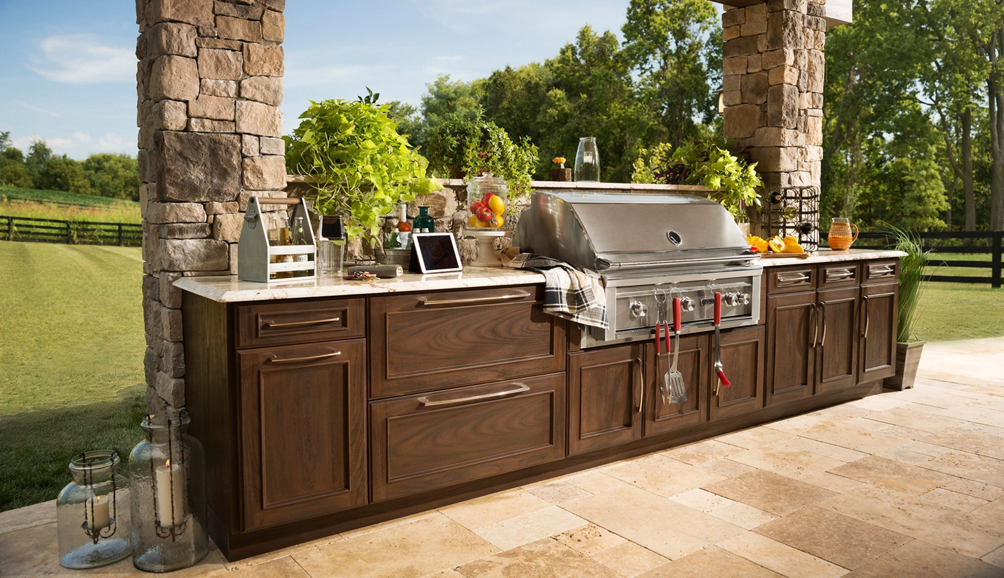 10 Impressive Ideas For Your Dream Home Yard Outdoor Kitchen Outdoor Kitchen Cabinets Diy Outdoor Kitchen