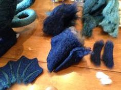 Making a Felted Dragon!