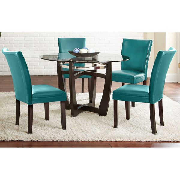 Greyson Living Monoco 5 Pc Dining Set Featuring Polyvore Home Furniture Grey