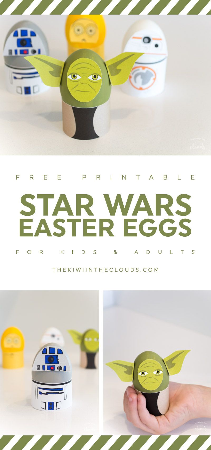 How to make star wars easter eggs your kids will love kid