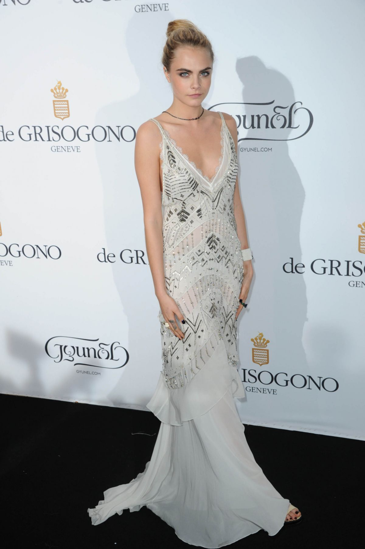 Cara Delevingneat De Grisogono Fatale in Cannes Party at Cannes Film Festival