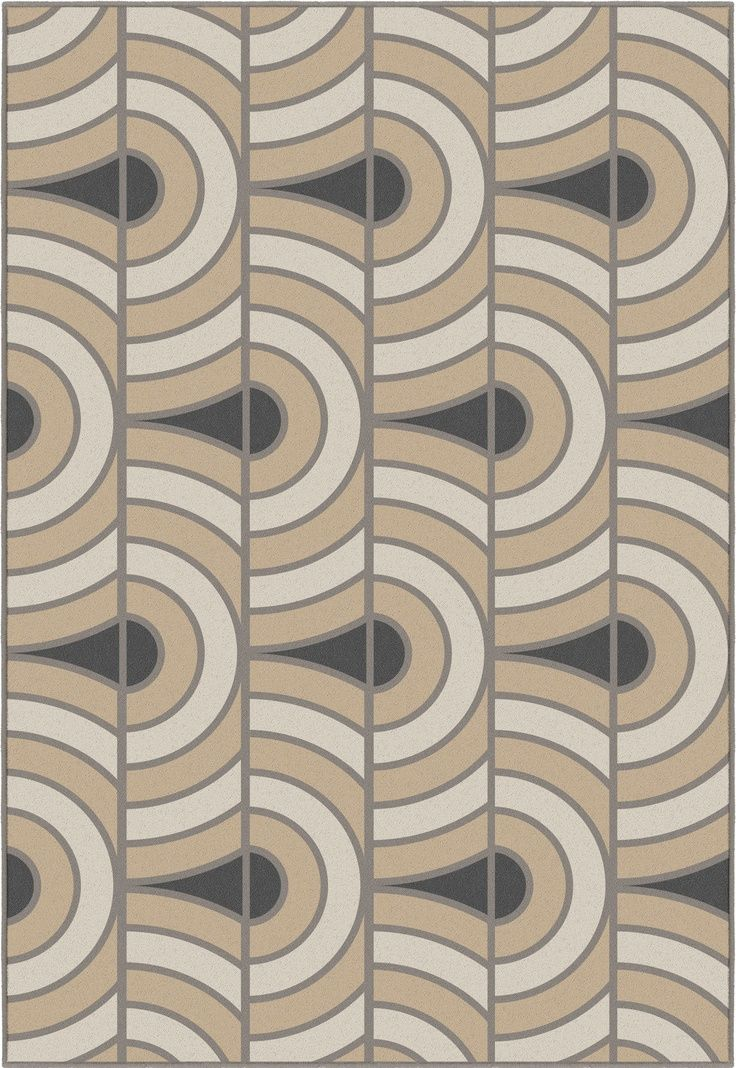 Art Deco Inspired Wall Covering. Bold Patterns And Textures. Art