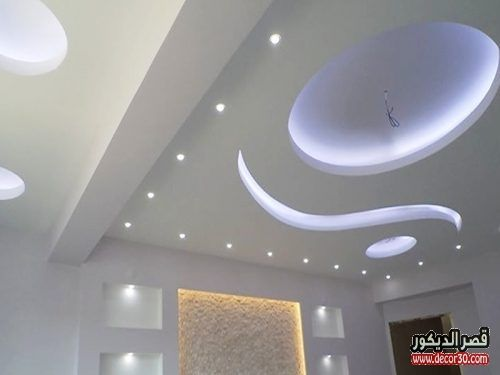 اشكال اسقف جبس بورد غرف وصالات وريسبشن متنوعة قصر الديكور In 2021 Drywall Installation Suspended Ceiling Lights False Ceiling Design