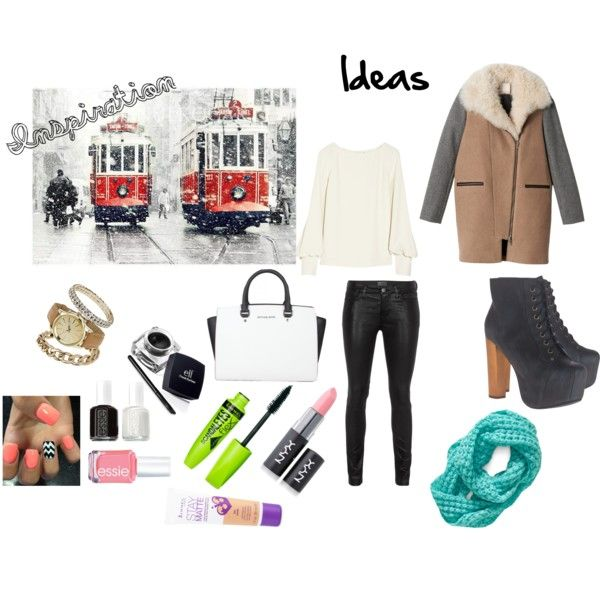 """Inspiration #1 - Winter London"" by chloerosesimpson on Polyvore"