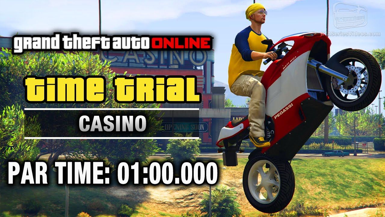 GTA Online - Time Trial #15 - Casino (Under Par Time)