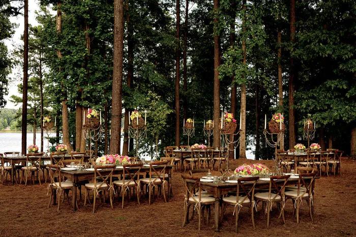 The RitzCarlton Reynolds, Lake Oconee Forest Tent