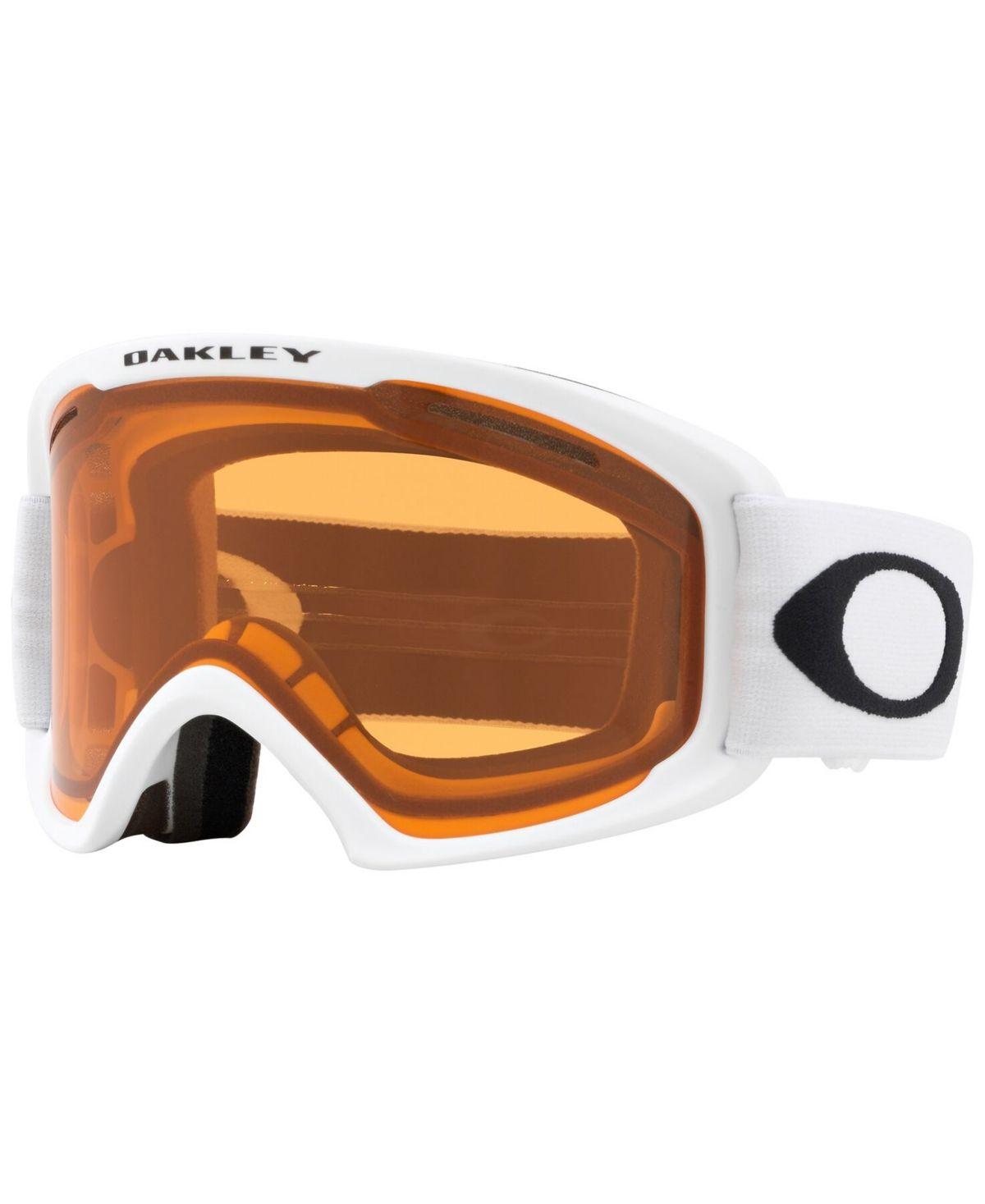 Oakley Unisex Frame 2 0 Goggles Sunglasses Matte White Persimmon Dark Grey Oakley Snow Goggles Fashion Frames