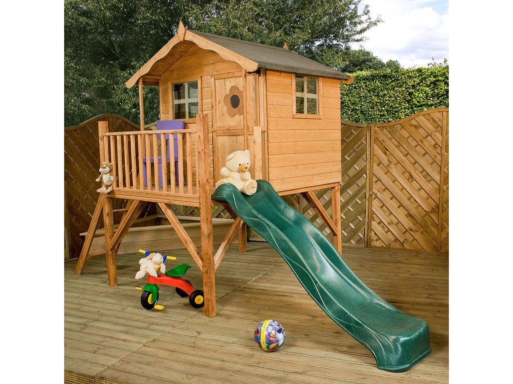 Winchester Tulip Playhouse with Slide | Toys & Video Games ...