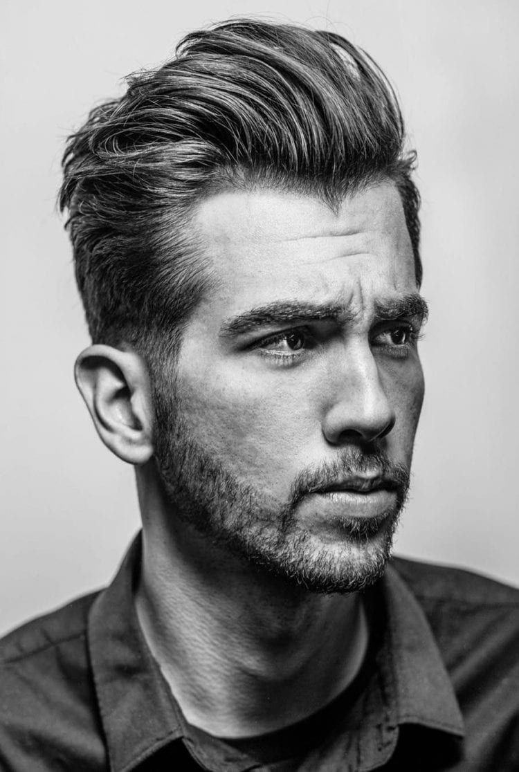 30 Slicked Back Hairstyles A Classy Style Made Simple Guide Mens Hairstyles Medium Widows Peak Hairstyles Medium Hair Styles