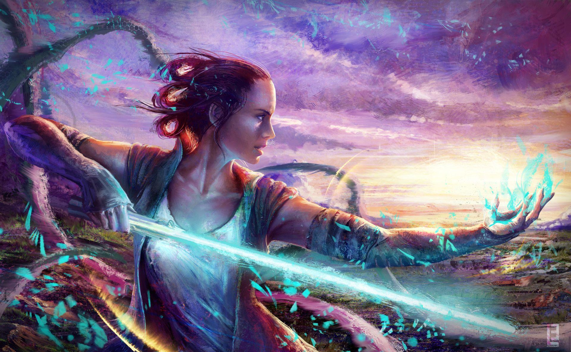 ArtStation - Rey of Light, Maryna Babych