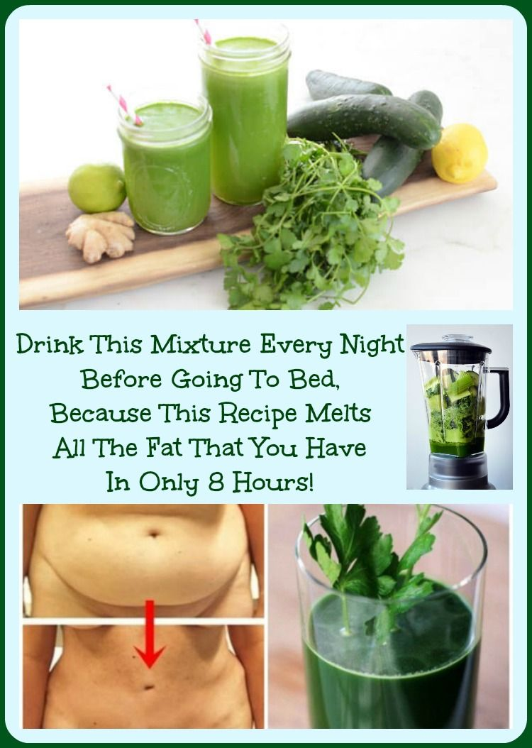 Drink This Mixture Every Night Before Going To Bed and It