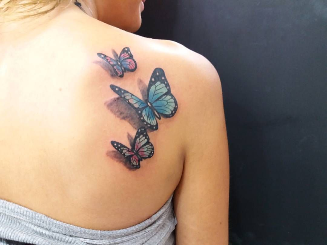 Butterfly Butterfly Tattoo Designs 3d Butterfly Color Tattoo Girls Tattoo Colour Tattoo For Women Tattoos Tattoo Designs For Women