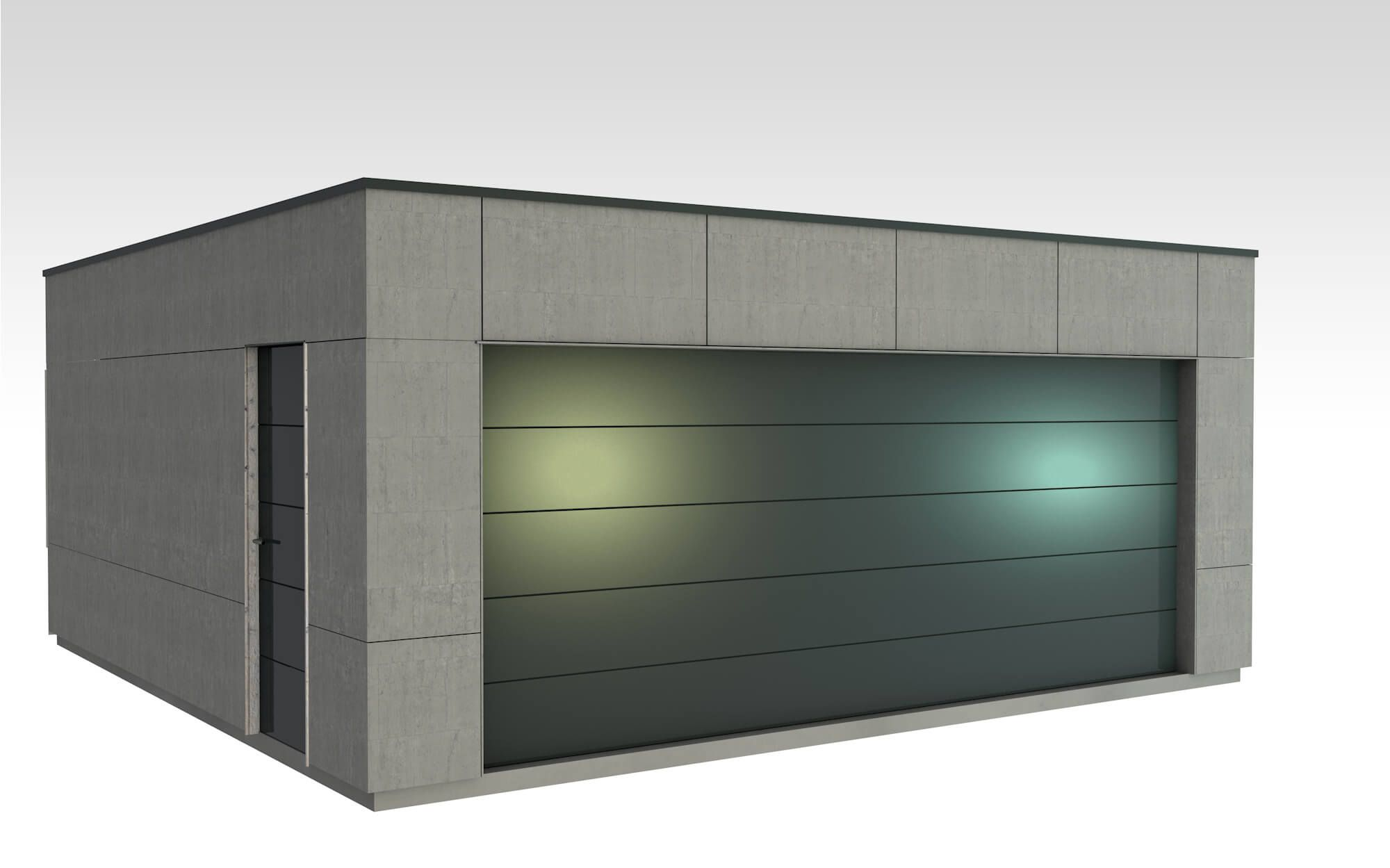 Etapes Construction Maison Rt 2012 Etape 8 Devis Et Visualisation Pour Garage Bois Garage Pinterest