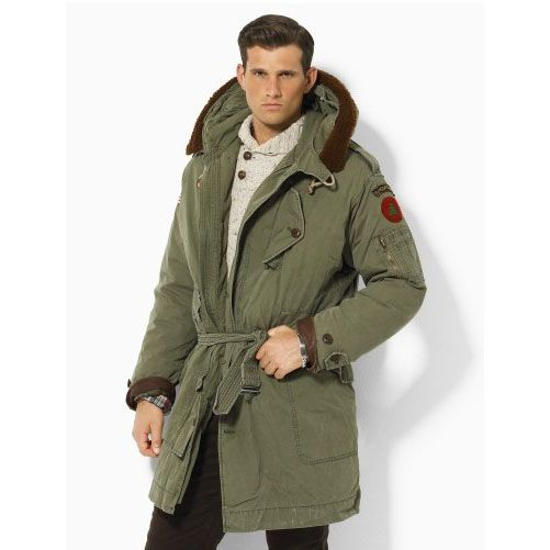 Ralph Lauren Rustic Hooded Parka $312
